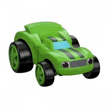 Машинка Огурчик Mattel Blaze Вспыш и его друзья чудо-машинки
