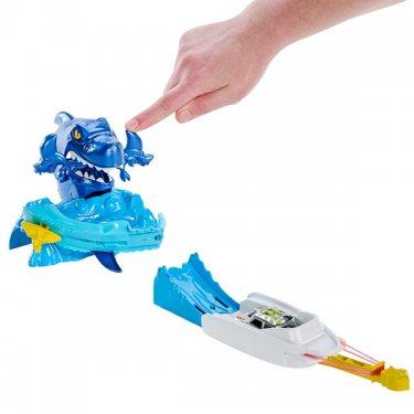 Автотрек Mattel Hot Wheels Трасса Синяя акула