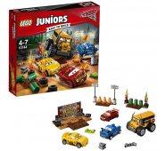 """Cars 3 Конструктор Lego Juniors Лего Джуниорс Тачки 3 Гонка """"Сумасшедшая восьмерка"""""""