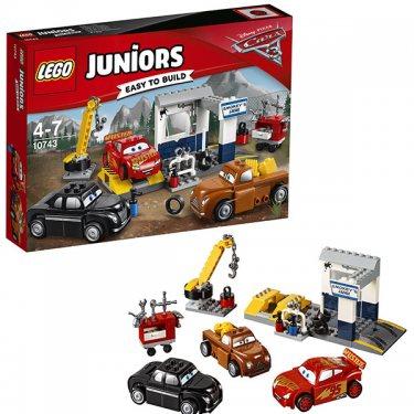 Конструктор Cars 3 Лего Джуниорс Тачки Гараж Смоуки Lego Juniors