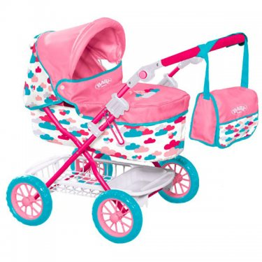 Коляска Zapf Creation Baby Born Бэби Борн Коляска делюкс с сумкой, 2017