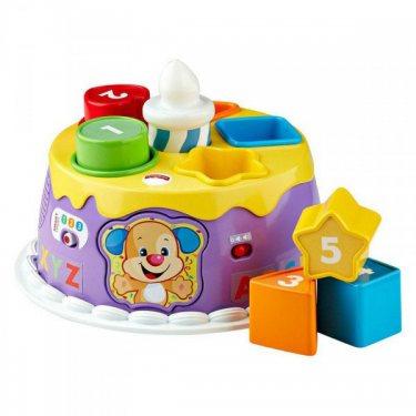 Развивающие игрушки для малышей Mattel Fisher-Price Фишер Прайс Торт с волшебными огоньками