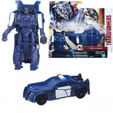 Трансформеры 5 Hasbro Transformers Последний Рыцарь: Фигурка Уан-степ Баррикейд