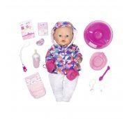 Zapf Creation Baby born Кукла Интерактивная Зимняя пора, 43 см