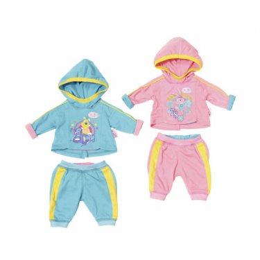 Одежда для куклы Zapf Creation Baby born Спортивный костюмчик (в ассортименте)