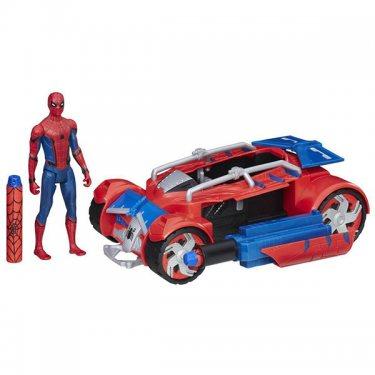 Машинка Spider-Man Транспортное средство Паутинный город 15 см
