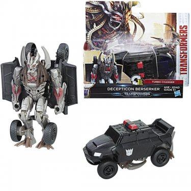 Фигурка трансформер Hasbro Transformers Трансформеры 5: Уан-степ Десептикон Берсеркер