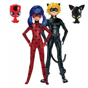 Игровой набор из двух кукол Леди Баг и Супер Кот (26 см)