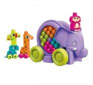 Конструктор Mattel Mega Bloks Мега Блокс Неуклюжий слон розовый