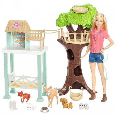 """Кукла Mattel Barbie Барби Игровой набор """"Спасатель животных"""""""