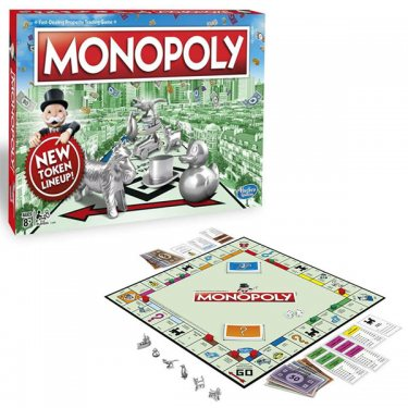 Настольная игра Hasbro Monopoly Классическая Монополия Обновленная