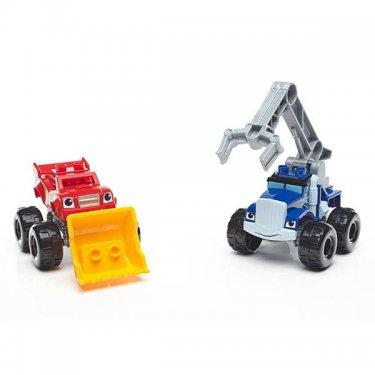Конструктор Mattel Mega Bloks Мега Блокс Вспыш: монстр - траки с аксессуарами