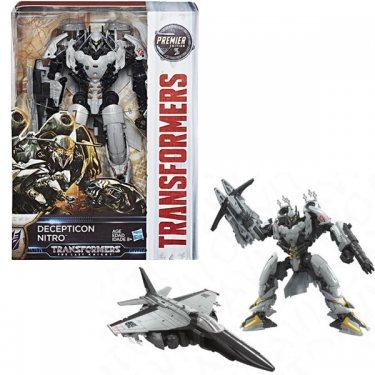 Transformers Последний Рыцарь Десептикон Нитро Вояджер класс