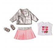 Аксессуары Zapf Creation Baby born Комплект модной одежды из 4-х предметов