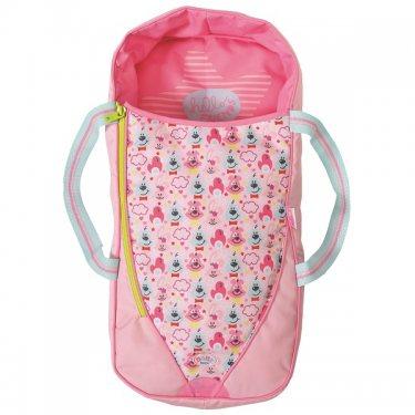 Zapf Creation Baby born Спальный мешок/переноска розовый, 30 см