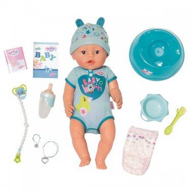 Zapf Creation Baby born Интерактивная Кукла-мальчик 43 см, с аксессуарами