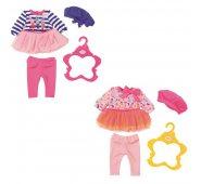 Одежда для куклы Zapf Creation Baby born Комплект модной одежды из 3-х предметов (в асс.)