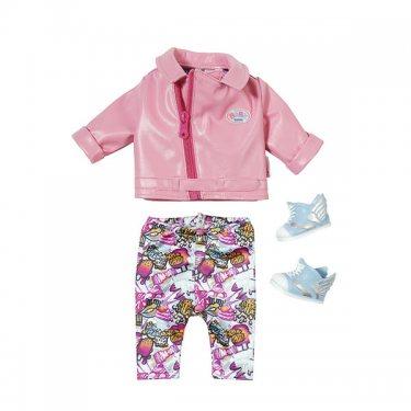 "Супер модный набор одежды ""Скутерист"" для куклы Zapf Creation Baby born, 3 предмета"