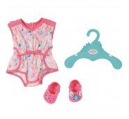 Zapf Creation Baby born Одежда для кукол Пижамка розовая с кроксами
