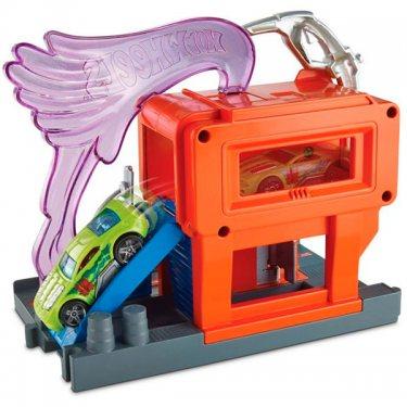 Автотрек Mattel Хот Вилс Сити Игровой набор FRH30