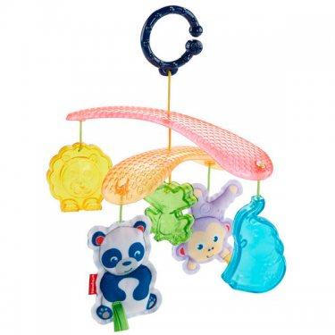 """Mattel Fisher-Price Мобиль для прогулок """"Веселые животные"""" (Подвески для малышей)"""