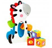 Mattel Fisher-Price Зебра с волшебными кубиками (Развивающие игрушки)