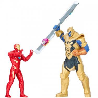 Игровой набор Мстители: Война Бесконечности Танос и Железный Человек