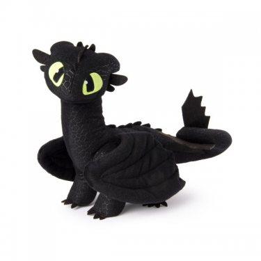 Dragons Тайный Мир Мягкая игрушка Плюшевый дракон Беззубик (35 см)