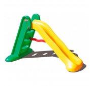 Детская горка Little Tikes Литл Тайкс Горка складная 150 см, желто-зеленая