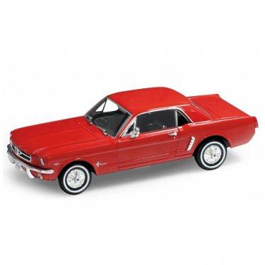 Машинка Welly 22451 Велли Модель винтажной машины 1:24 Ford Mustang 1964