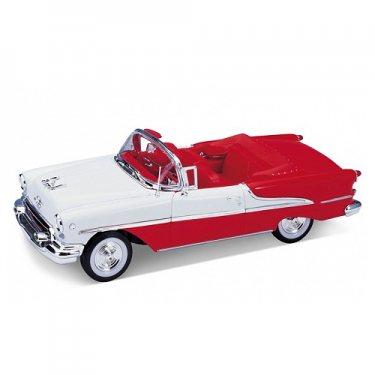Машинка Welly 22432 Велли Модель винтажной машины 1:24 Oldsmobile Super 1955