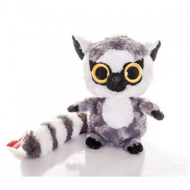 Мягкая игрушка Юху и его друзья Юху Лемур, 20 см, блестящие глазки