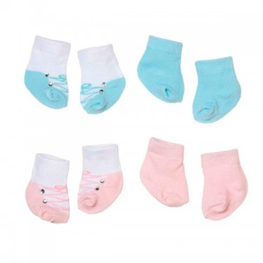 Одежда для куклы Zapf Creation Baby Annabell Носочки (2 пары), 2 асс., блистер