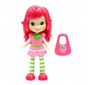 Кукла Strawberry Shortcake 12260 Шарлотта Земляничка Кукла 8 см, 4 в ассортименте
