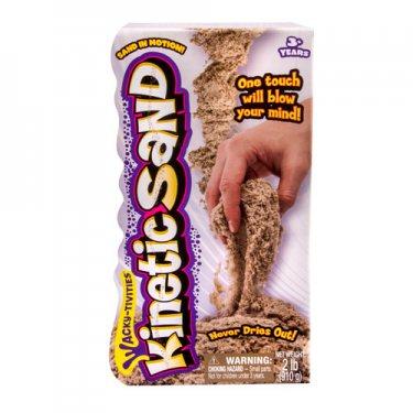 Набор для творчества Kinetic sand 71400 Кинетик сэнд Кинетический песок для лепки  910 грамм, коричневый
